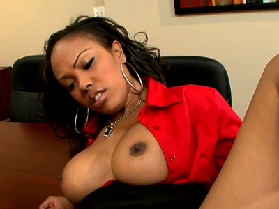 Lacey Duvalle is black chick who can please any cock