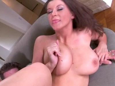 Big bosomed girl