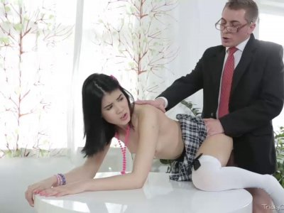 Jody played with her pussy while