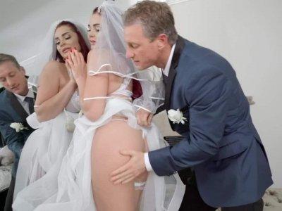The Cum Spattered Bride