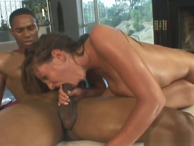 Nasty Girl Takes BBC Anal