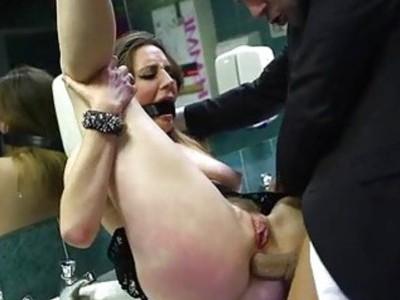 Big tits Samantha Bentley ass pounded