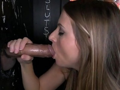 Beauty dazzles with immodest phallus sampling