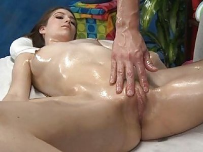 18 year old receives drilled hard by her rubber