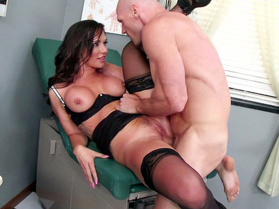 Busty doctor Destiny Dixon pussy fucked in the hospital
