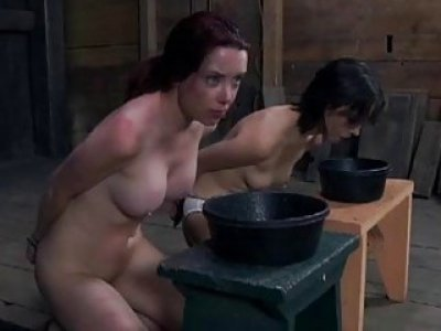 Sexy whipping for beautys gazoo