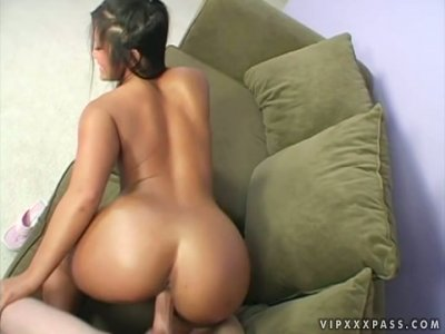 Exotic beauty Christina Aguchi looks awesome when she bends over