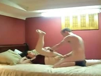 Chubby housewife fornicates with her lover