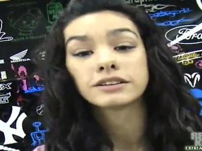 Adina is locked between dicks of Jay and Sergio