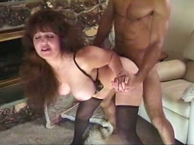 Mature nympho Kelly Jean gets banged doggy on the floor