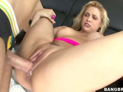 Bootyful BBW kitty Sarah Vandella gets her fat cunt drilled